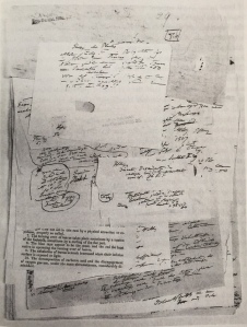 Humboldt's lecture notes on plant geography